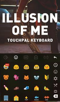 Illusion Of Me Keyboard Theme apk screenshot