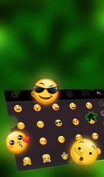 Emerald Green Keyboard Theme 截圖 3