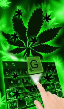 Emerald Green Keyboard Theme 海報