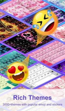 Cute Macaroon Colorful Micky Emoji Keyboard Theme 截图 7