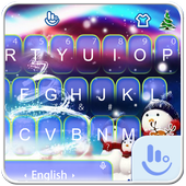 Live 3D Magic Christmas Keyboard Theme icon