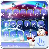 Live 3D Magic Christmas Keyboard Theme icon