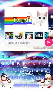 Live 3D Magic Christmas Keyboard Theme screenshot 4