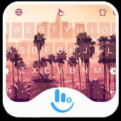 Miami TouchPal Keyboard Theme icon