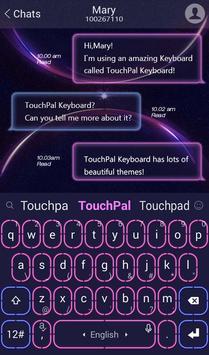 Miss Neon Keyboard Theme apk screenshot