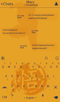 Dragon Ball Keyboard Theme apk screenshot