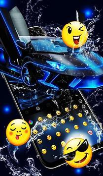 Neon Water Sports Car تصوير الشاشة 3