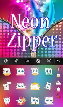 Neon Zipper screenshot 3