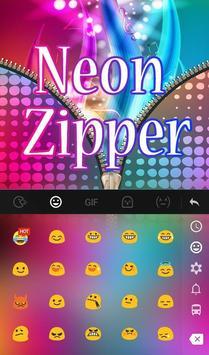 Neon Zipper screenshot 2
