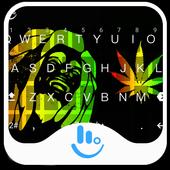 Rasta Weeds Keyboard Theme icon
