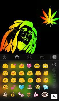 Rasta Weeds Keyboard Theme apk screenshot