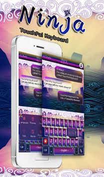 TouchPal Ninja Keyboard Theme poster
