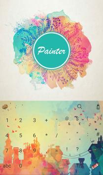 Art Painter Keyboard Theme apk screenshot