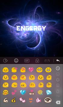 Energy Emoji Keyboard Theme apk screenshot