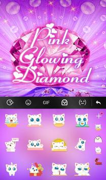 Pink Glowing Diamond screenshot 3