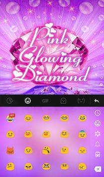 Pink Glowing Diamond screenshot 2
