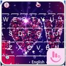 Pink Love Diamond Keyboard Theme APK