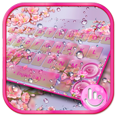 Pink Sakura Flower أيقونة