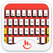 TouchPal Pop Art Red Theme icon