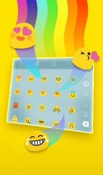 Live 3D Rainbow Animation Keyboard Theme screenshot 3