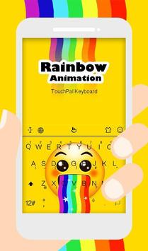 Live 3D Rainbow Animation Keyboard Theme poster