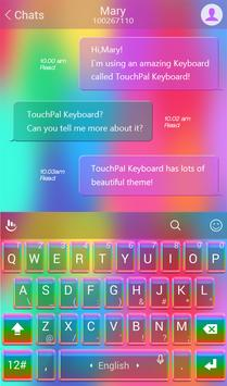Rainbow Love Keyboard Theme poster