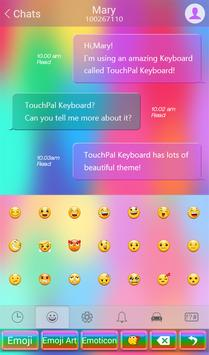Rainbow Love Keyboard Theme screenshot 3