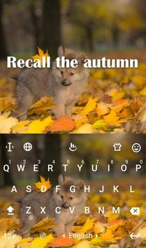 Recall The Autumn Keyboard Theme poster