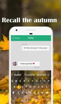 Recall The Autumn Keyboard Theme apk screenshot