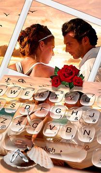 Romantic Love Couple Photo Keyboard Theme 海報