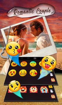 Romantic Love Couple Photo Keyboard Theme 截圖 3