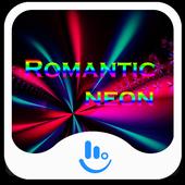 Romantic Neon Keyboard Theme icon
