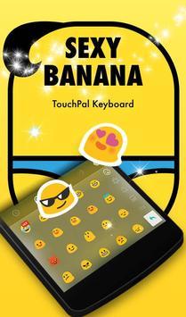 TouchPal Sexy Banana Theme apk screenshot