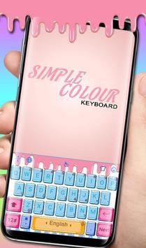Simple Colour poster