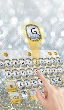 Silver Glitter poster