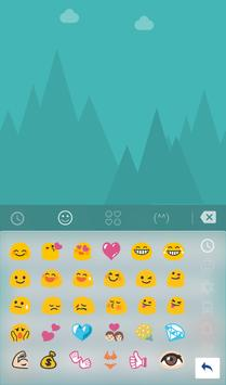 TouchPal Snow Covered Keyboard screenshot 2