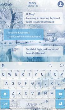 TouchPal Snowberg Keyboard poster