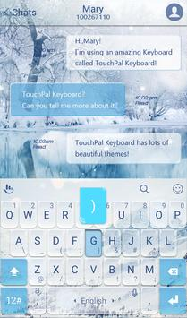 TouchPal Snowberg Keyboard screenshot 1
