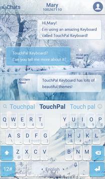 TouchPal Snowberg Keyboard apk screenshot