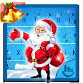 Snowy Santa Christmas Keyboard Theme icon