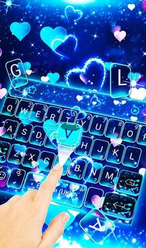 Sparkling Heart Keyboard Theme For Android Apk Download