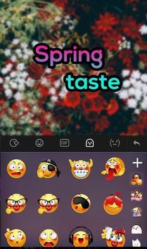 Spring Taste Keyboard Theme apk screenshot