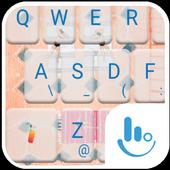 Summer Swimming Pool Keyboard icon