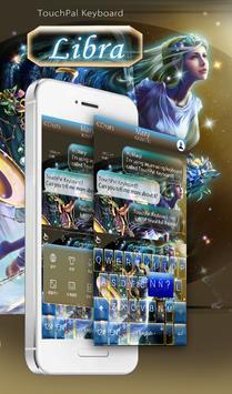 Stars Libra Keyboard Theme poster