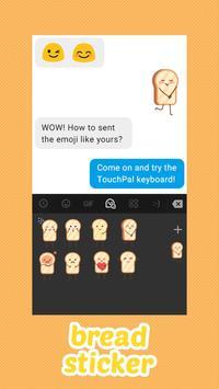 Bread Keyboard Sticker screenshot 1