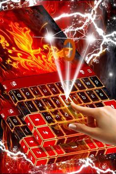 Red Fire Keyboard screenshot 1