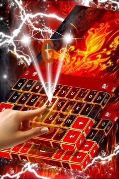 Red Fire Keyboard screenshot 2