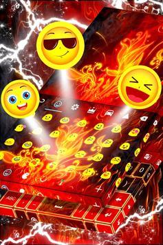 Red Fire Keyboard screenshot 4