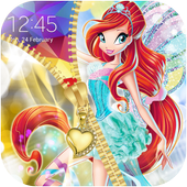 Winx Zipper Lock Screen icon