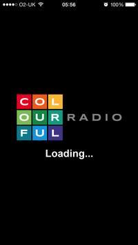 Colourful Radio poster